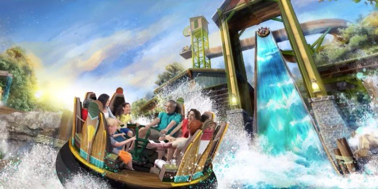 Mystic River Falls Coming to Silver Dollar City!