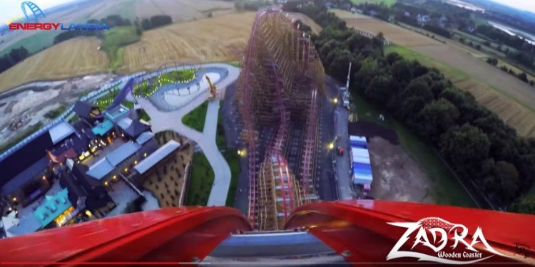 Official POV Video of Energylandia's Zadra!