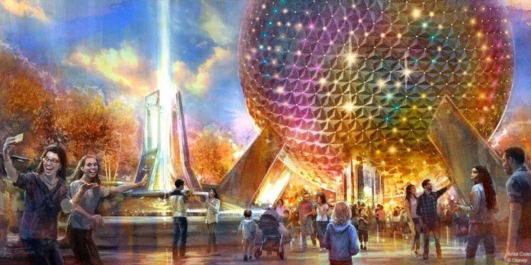 News About Epcot's Big Makeover!