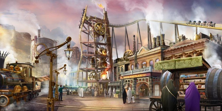 Design Unveiled for Six Flags Qiddiya!