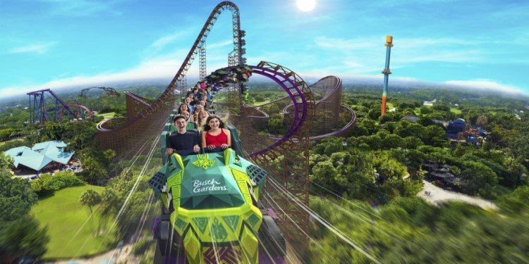 Iron Gwazi Coming to Busch Gardens Tampa!