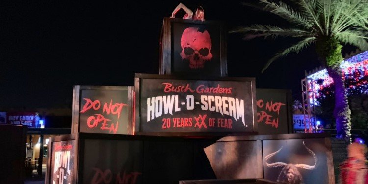 Howl-o-Scream at Busch Gardens Tampa!
