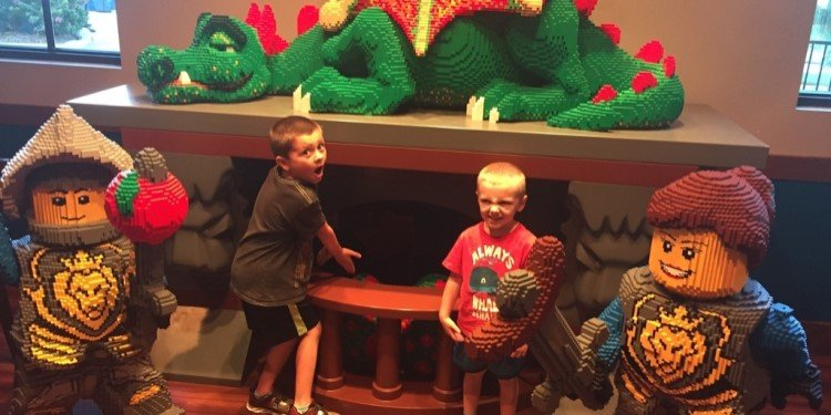JimmyBo's Family Trip to Legoland California!