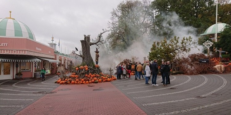 Report from Liseberg Halloween, Sweden!