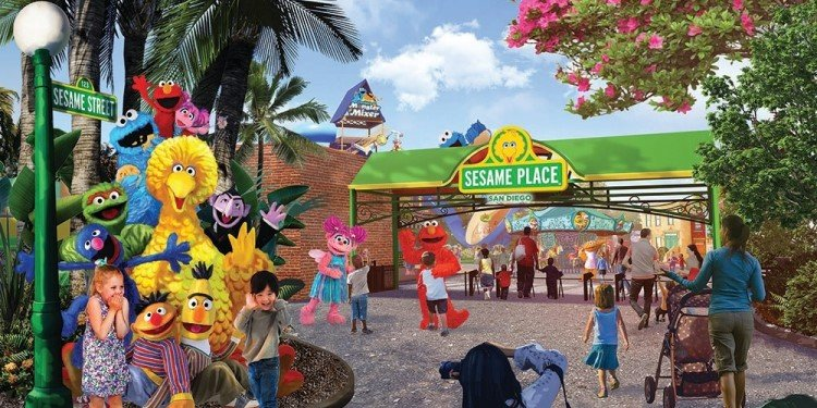 Sesame Place Is Coming to San Diego!