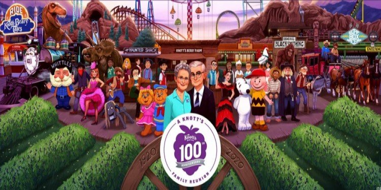 Knott's to Celebrate 100th Anniversary in 2020!