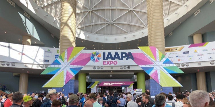 First Day of IAAPA in Orlando!