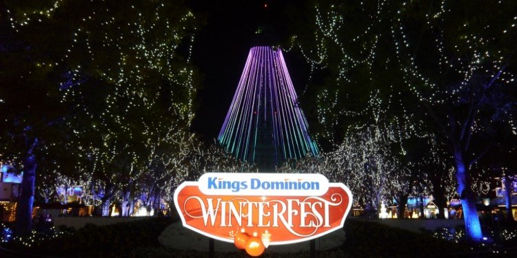 Preview of Kings Dominion's Winterfest!