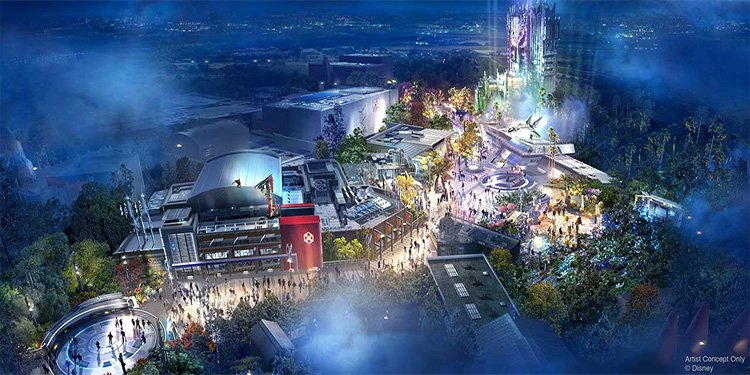 Avengers Campus coming to Disneyland Resort!