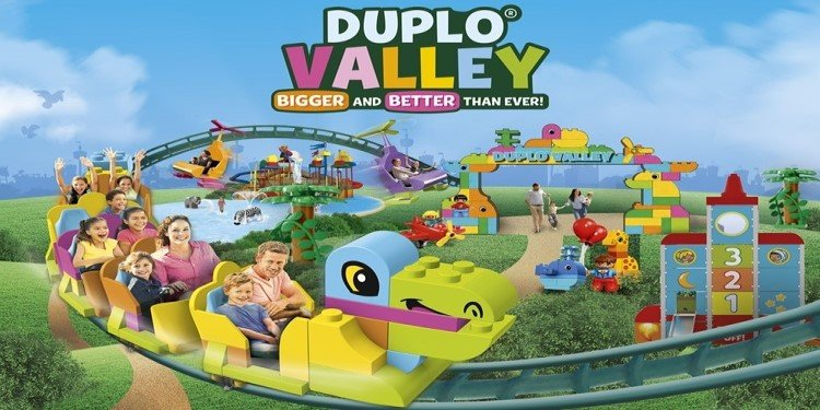 World's 1st DUPLO Coaster Opens March 14th!