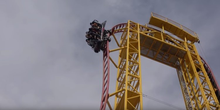 POV Video of SFOG's Dare Devil Dive!