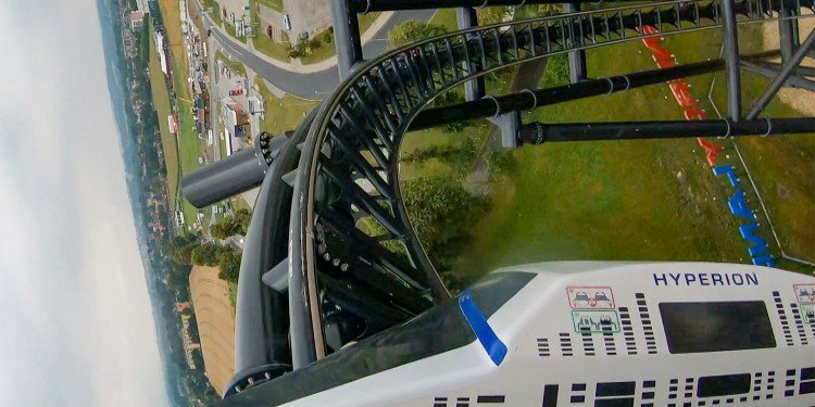 Front Seat POV Video of Hyperion!
