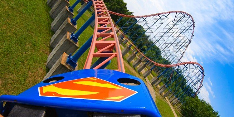 Front-and-Back-Seat POV of Superman!