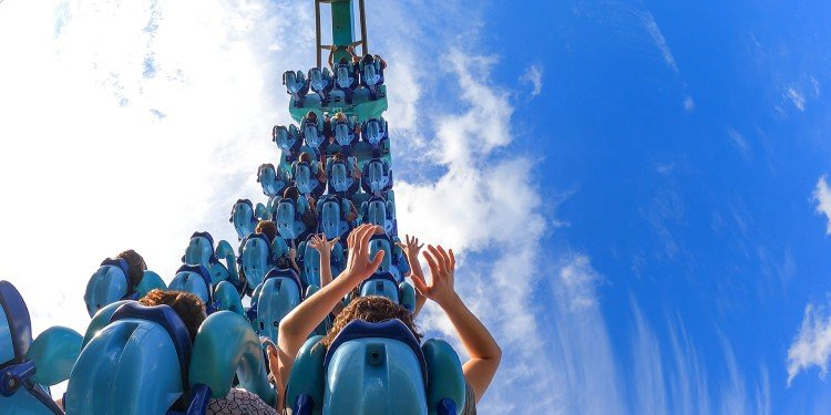 NEW POV Video of SeaWorld's Kraken!