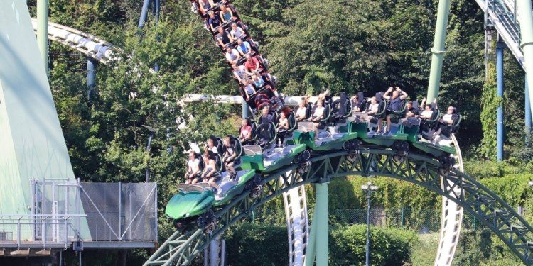 Andy's European Adventure: Liseberg!