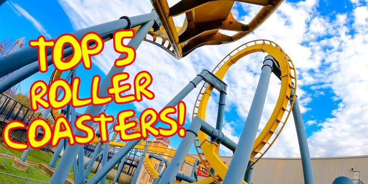 Video of the Top 5 Coasters at Six Flags Over Texas!