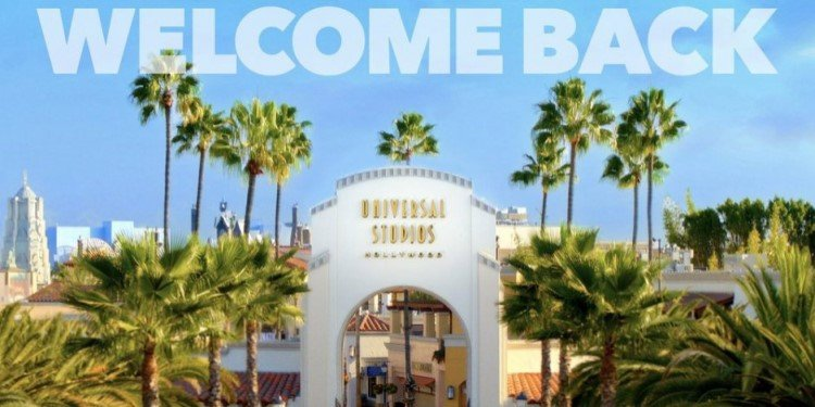 Universal Hollywood Reopening on April 16th!